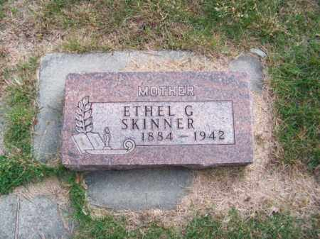 SKINNER, ETHEL G. - Brown County, Nebraska | ETHEL G. SKINNER - Nebraska Gravestone Photos