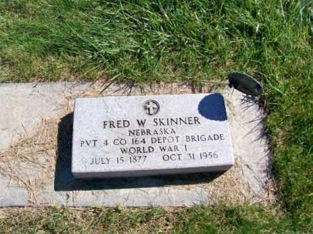 SKINNER, FRED W. - Brown County, Nebraska | FRED W. SKINNER - Nebraska Gravestone Photos