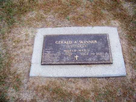 SKINNER, GERALD A. - Brown County, Nebraska | GERALD A. SKINNER - Nebraska Gravestone Photos