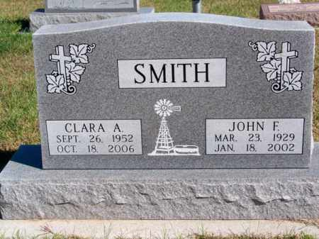 SMITH, CLARA A. - Brown County, Nebraska | CLARA A. SMITH - Nebraska Gravestone Photos