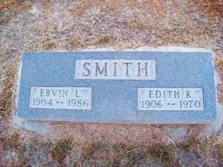 SMITH, ERVIN L. - Brown County, Nebraska | ERVIN L. SMITH - Nebraska Gravestone Photos