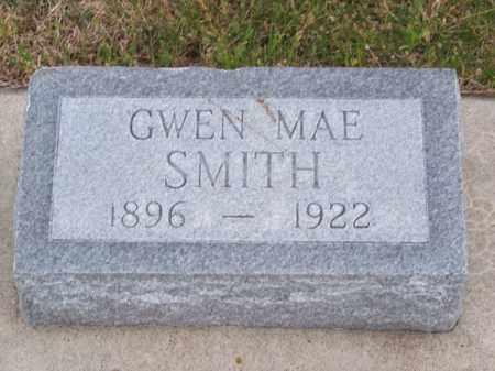 SMITH, GWEN MAE - Brown County, Nebraska | GWEN MAE SMITH - Nebraska Gravestone Photos
