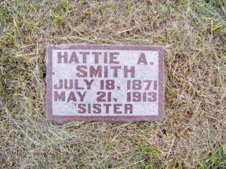 SMITH, HATTIE A. - Brown County, Nebraska | HATTIE A. SMITH - Nebraska Gravestone Photos