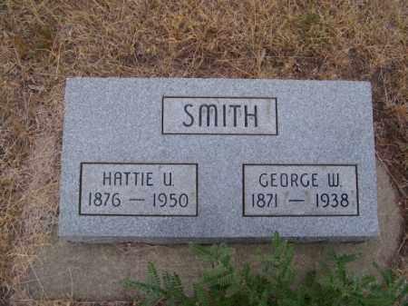 SMITH, GEORGE W. - Brown County, Nebraska   GEORGE W. SMITH - Nebraska Gravestone Photos