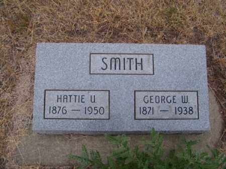 SMITH, HATTIE U. - Brown County, Nebraska | HATTIE U. SMITH - Nebraska Gravestone Photos