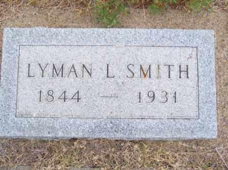 SMITH, LYMAN L. - Brown County, Nebraska | LYMAN L. SMITH - Nebraska Gravestone Photos