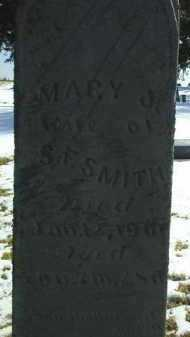 SMITH, MARY - Brown County, Nebraska | MARY SMITH - Nebraska Gravestone Photos