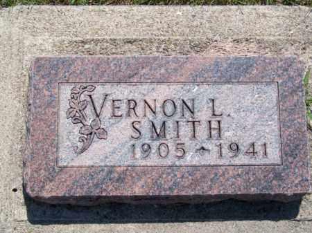 SMITH, VERNON L. - Brown County, Nebraska | VERNON L. SMITH - Nebraska Gravestone Photos