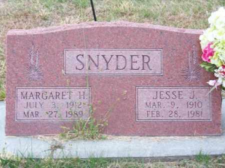 SNYDER, JESSE J. - Brown County, Nebraska | JESSE J. SNYDER - Nebraska Gravestone Photos