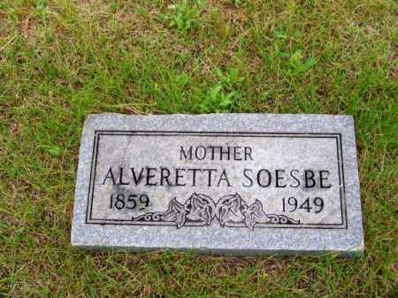 SOESBE, ALVERETTA - Brown County, Nebraska | ALVERETTA SOESBE - Nebraska Gravestone Photos