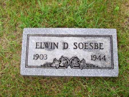 SOESBE, ELWIN D. - Brown County, Nebraska | ELWIN D. SOESBE - Nebraska Gravestone Photos