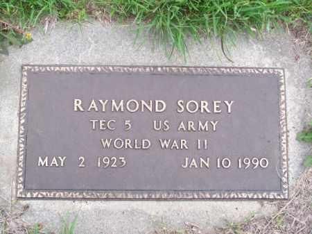 SOREY, RAYMOND - Brown County, Nebraska   RAYMOND SOREY - Nebraska Gravestone Photos