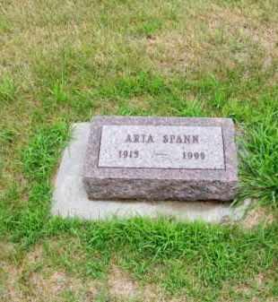 SPANN, ARTA - Brown County, Nebraska | ARTA SPANN - Nebraska Gravestone Photos