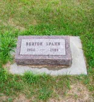 SPANN, BURTON - Brown County, Nebraska | BURTON SPANN - Nebraska Gravestone Photos