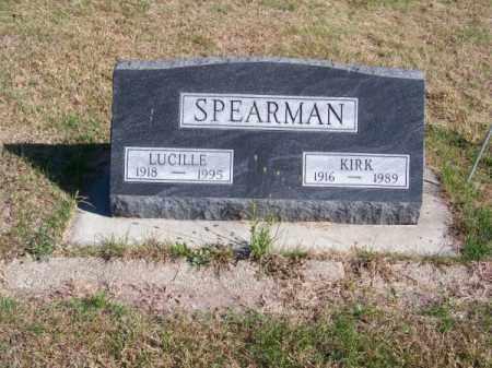 SPEARMAN, KIRK - Brown County, Nebraska   KIRK SPEARMAN - Nebraska Gravestone Photos