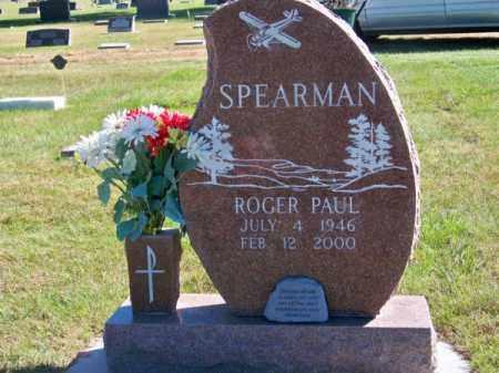 SPEARMAN, ROGER PAUL - Brown County, Nebraska   ROGER PAUL SPEARMAN - Nebraska Gravestone Photos