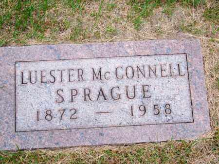 SPRAGUE, LUESTER - Brown County, Nebraska | LUESTER SPRAGUE - Nebraska Gravestone Photos