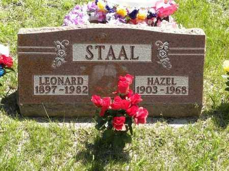 WHEELER STAAL, HAZEL ESTHER - Brown County, Nebraska   HAZEL ESTHER WHEELER STAAL - Nebraska Gravestone Photos