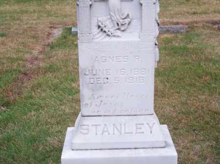 STANLEY, AGNES R. - Brown County, Nebraska | AGNES R. STANLEY - Nebraska Gravestone Photos