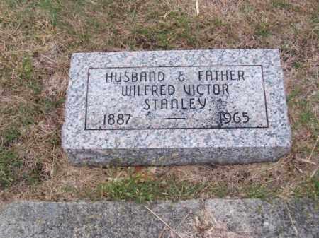 STANLEY, WILFRED VICTOR - Brown County, Nebraska   WILFRED VICTOR STANLEY - Nebraska Gravestone Photos