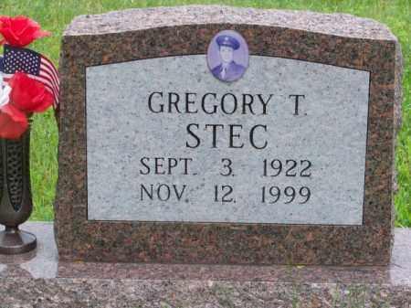 STEC, GREGORY T. - Brown County, Nebraska | GREGORY T. STEC - Nebraska Gravestone Photos