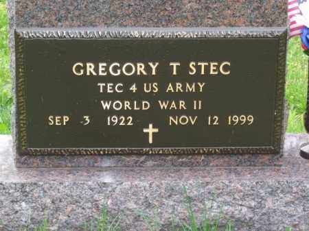 STEC, GREGORY T. - Brown County, Nebraska | GREGORY T. STEC - Nebraska Gravestone Photos