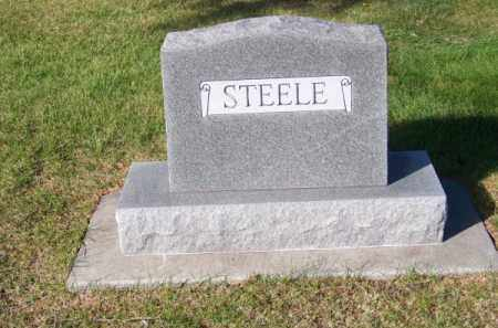 STEELE, FAMILY - Brown County, Nebraska   FAMILY STEELE - Nebraska Gravestone Photos