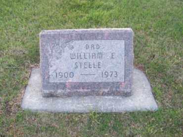 STEELE, WILLIAM E. - Brown County, Nebraska | WILLIAM E. STEELE - Nebraska Gravestone Photos