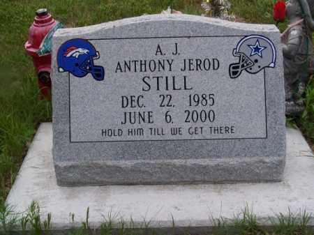 STILL, ANTHONY JEROD - Brown County, Nebraska | ANTHONY JEROD STILL - Nebraska Gravestone Photos