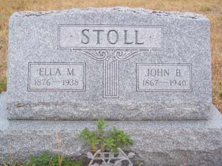 STOLL, ELLA M. - Brown County, Nebraska | ELLA M. STOLL - Nebraska Gravestone Photos