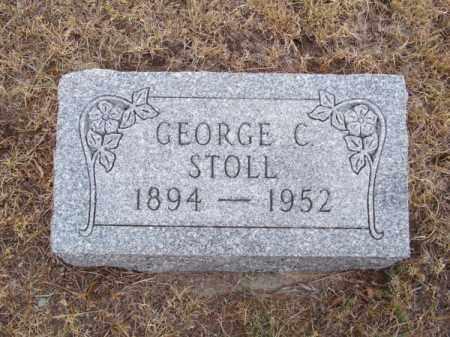 STOLL, GEORGE C. - Brown County, Nebraska   GEORGE C. STOLL - Nebraska Gravestone Photos