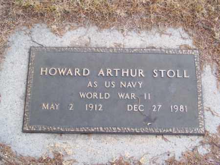 STOLL, HOWARD ARTHUR - Brown County, Nebraska | HOWARD ARTHUR STOLL - Nebraska Gravestone Photos
