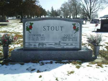 STOUT, DOLLIE - Brown County, Nebraska   DOLLIE STOUT - Nebraska Gravestone Photos