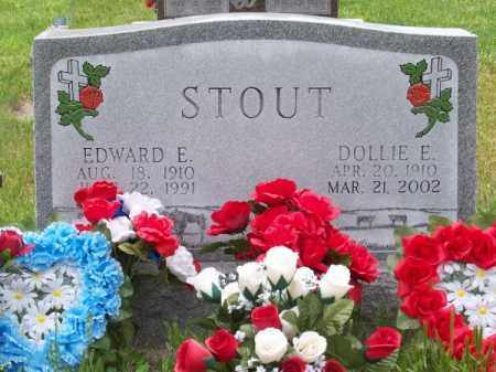 STOUT, DOLLIE E. - Brown County, Nebraska | DOLLIE E. STOUT - Nebraska Gravestone Photos