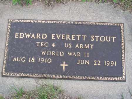 STOUT, EDWARD EVERETT - Brown County, Nebraska   EDWARD EVERETT STOUT - Nebraska Gravestone Photos