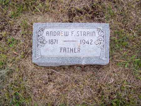 STRAIN, ANDREW F. - Brown County, Nebraska | ANDREW F. STRAIN - Nebraska Gravestone Photos