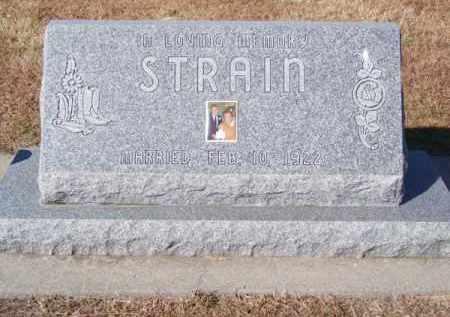 STRAIN, MARY E. - Brown County, Nebraska   MARY E. STRAIN - Nebraska Gravestone Photos