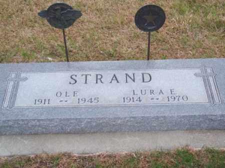 STRAND, LURA E. - Brown County, Nebraska | LURA E. STRAND - Nebraska Gravestone Photos