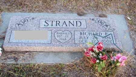 STRAND, RICHARD P. - Brown County, Nebraska | RICHARD P. STRAND - Nebraska Gravestone Photos