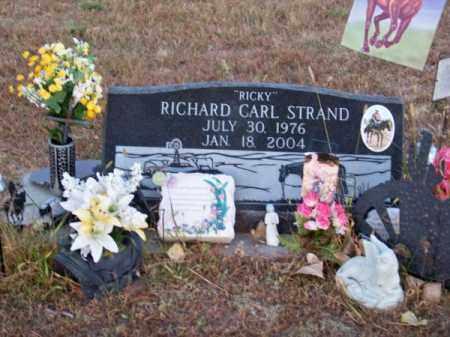 "STRAND, RICHARD CARL ""RICKY"" - Brown County, Nebraska | RICHARD CARL ""RICKY"" STRAND - Nebraska Gravestone Photos"