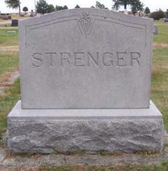 STRENGER, FAMILY - Brown County, Nebraska | FAMILY STRENGER - Nebraska Gravestone Photos