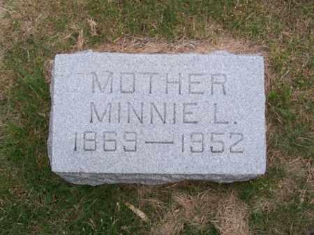 STRENGER, MINNIE L. - Brown County, Nebraska | MINNIE L. STRENGER - Nebraska Gravestone Photos