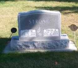 STRONG, VIRGIL R. - Brown County, Nebraska | VIRGIL R. STRONG - Nebraska Gravestone Photos