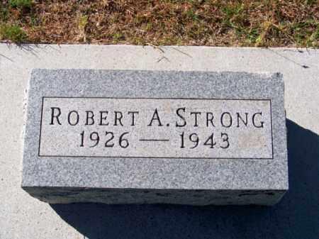 STRONG, ROBERT A. - Brown County, Nebraska | ROBERT A. STRONG - Nebraska Gravestone Photos