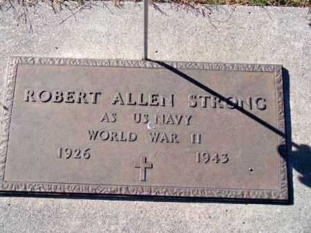 STRONG, ROBERT ALLEN - Brown County, Nebraska   ROBERT ALLEN STRONG - Nebraska Gravestone Photos