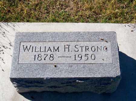 STRONG, WILLIAM H. - Brown County, Nebraska | WILLIAM H. STRONG - Nebraska Gravestone Photos