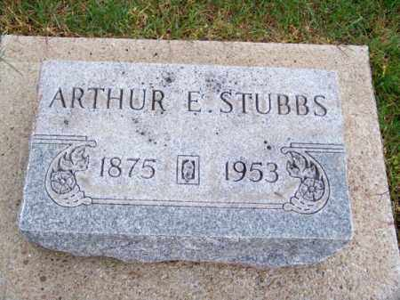 STUBBS, ARTHUR E. - Brown County, Nebraska | ARTHUR E. STUBBS - Nebraska Gravestone Photos