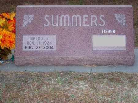 SUMMERS, WALDO E. - Brown County, Nebraska | WALDO E. SUMMERS - Nebraska Gravestone Photos