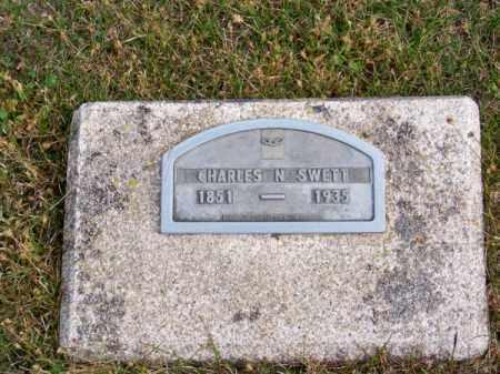 SWETT, CHARLES N. - Brown County, Nebraska | CHARLES N. SWETT - Nebraska Gravestone Photos