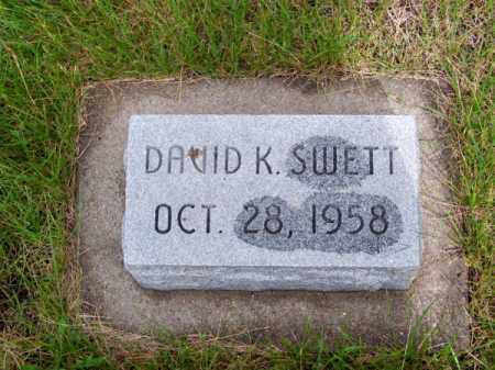 SWETT, DAVID K. - Brown County, Nebraska | DAVID K. SWETT - Nebraska Gravestone Photos